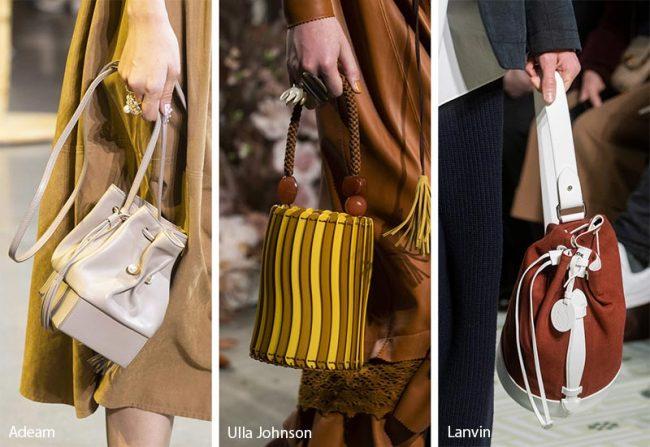 Borse a secchiello moda inverno 2019 2020