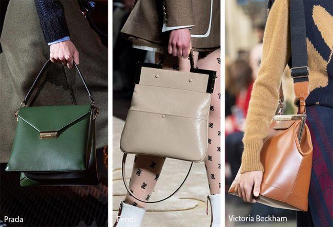 Borse dallo stile minimalista moda inverno 2019 2020