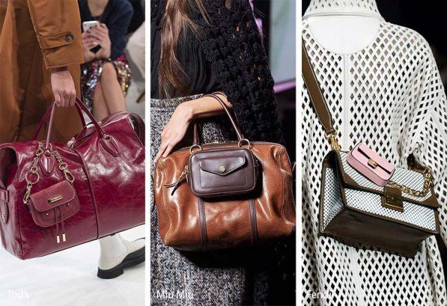 Borse multiple moda inverno 2019 2020