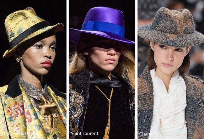 Cappelli Fedora e Borsalino moda inverno 2019 2020