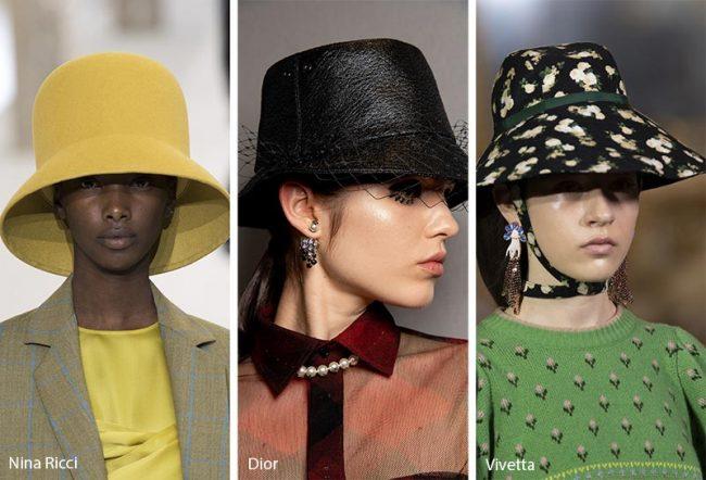 Cappelli a secchiello moda inverno 2019 2020