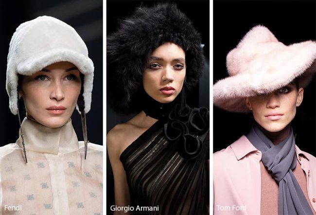 Cappelli in ecopelliccia moda inverno 2019 2020