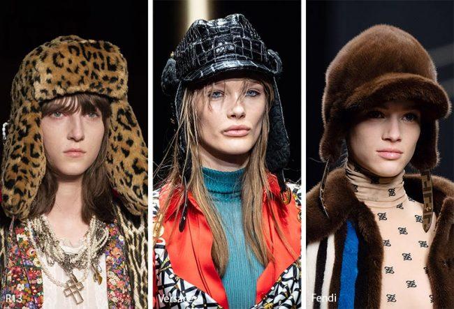 Cappelli trapper moda inverno 2019 2020