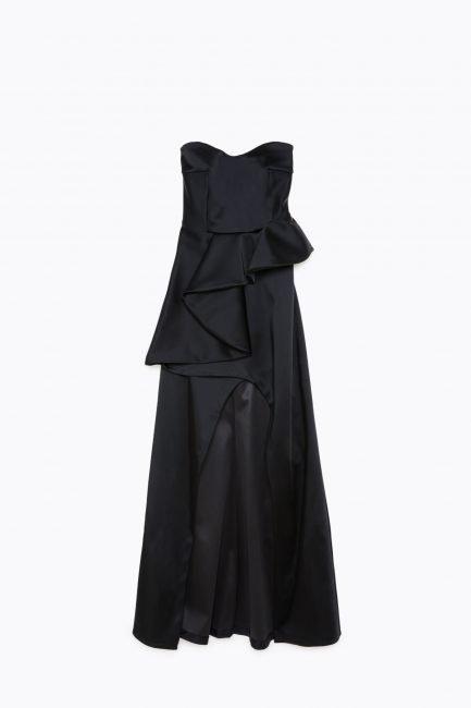 Elegante abito lungo da sera e da cerimonia Patrizia Pepe inverno 2019 2020