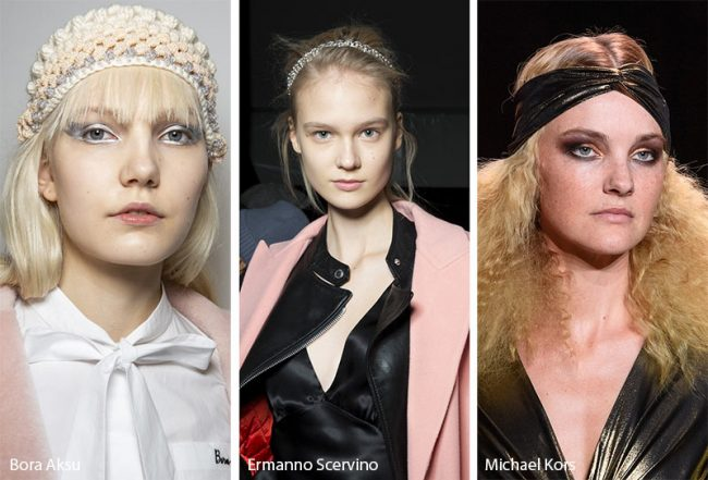 Fasce per capelli moda inverno 2019 2020