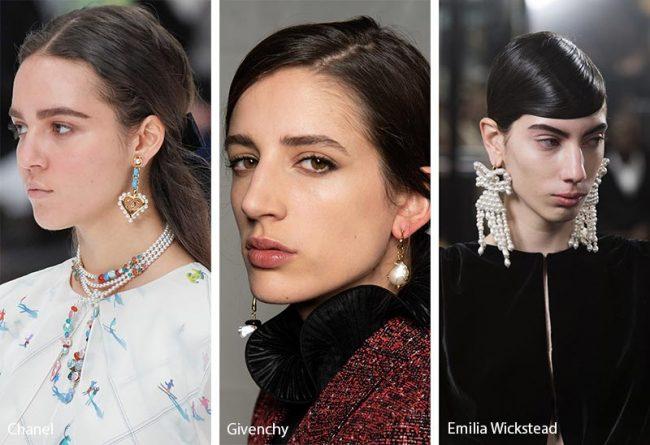 Gioielli con perle moda inverno 2019 2020