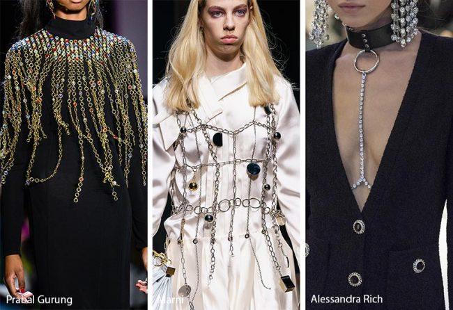 Gioielli da corpo moda inverno 2019 2020