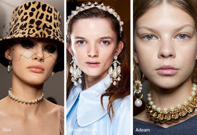 Gioielli e accessori per capelli con perle