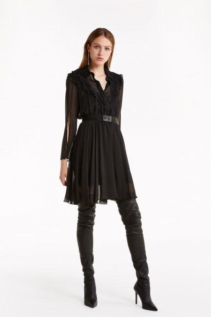 Mini dress Patrizia Pepe catalogo inverno 2019 2020