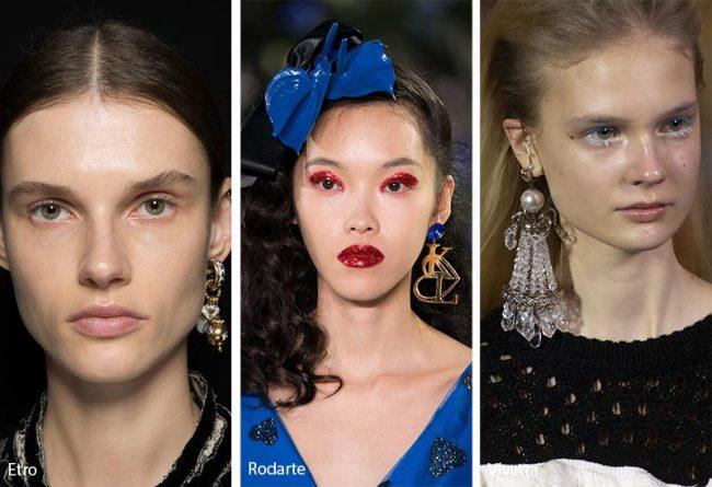 Orecchino singolo moda inverno 2019 2020