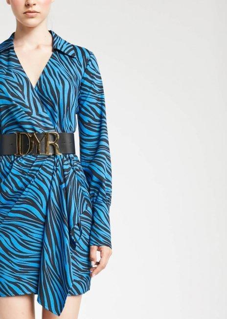 Vestito animalier Denny Rose inverno 2019 2020