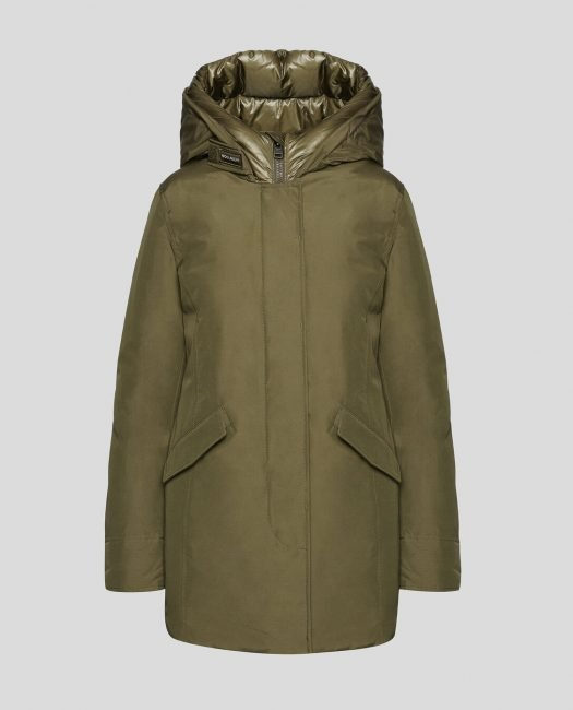 Arctic Parka Woolrich donna inverno 2019 2020 colore verde army olive
