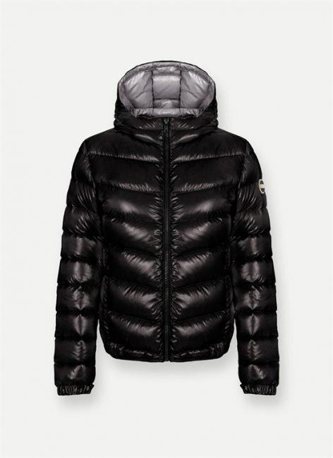 Bomber lucido nero Colmar donna collezione inverno 2020