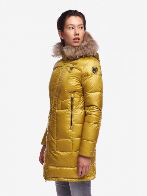 Caldo piumino lungo Blauer donna collezione inverno 2020