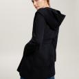 Cappotto corto a vestaglia color blu marino prezzo 369 euro modello Alassio