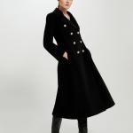 Cappotto stile militare con martingala e bottoni dorati Pennyblack inverno 2019 2020