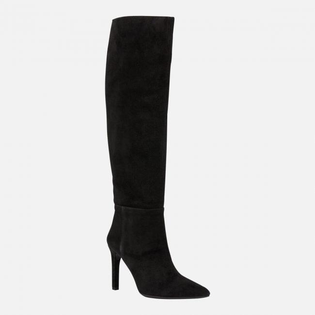 Eleganti stivali da sera con tacco alto Geox inverno 2019 2020