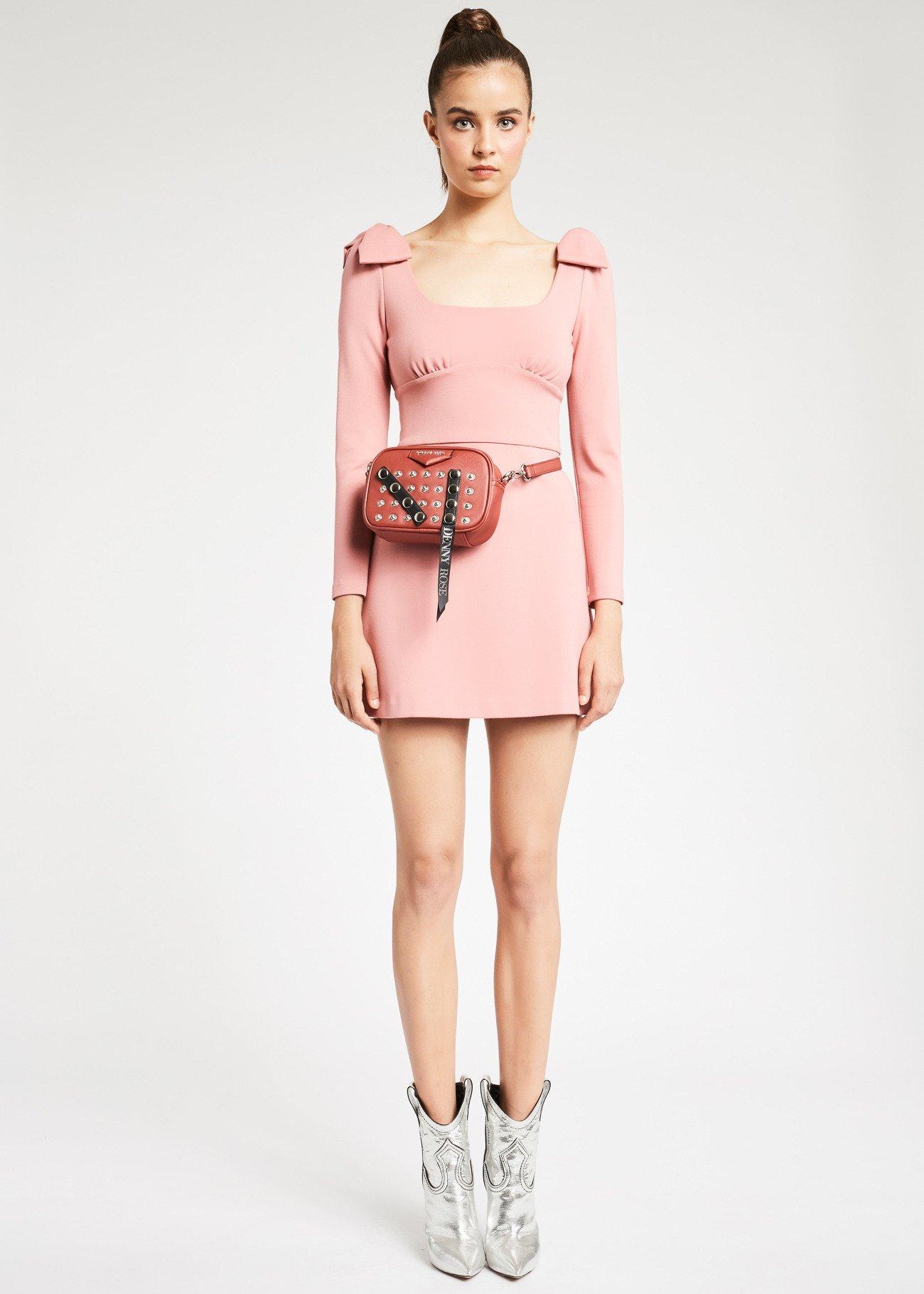 Mini dress Denny Rose con maniche lunghe prezzo 109 euro