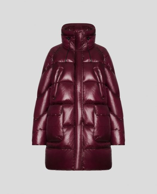 Nuovo Parka Woolrich Packable Birch Donna Inverno 2020 colore deep wine