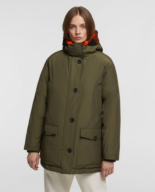 Parka reversibile Woolrich donna inverno 2020