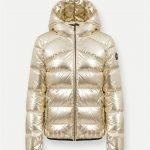 Piumino Colmar dorato collezione donna inverno 2020