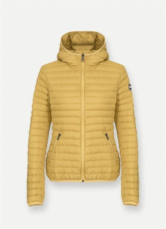 Piumino leggero 100 grammi Colmar colore giallo rich autunno inverno 2019 2020