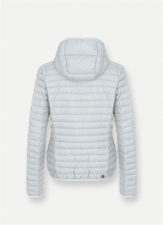 Piumino leggero 100 grammi donna Colmar con cappuccio grigio cold inverno 2019 2020