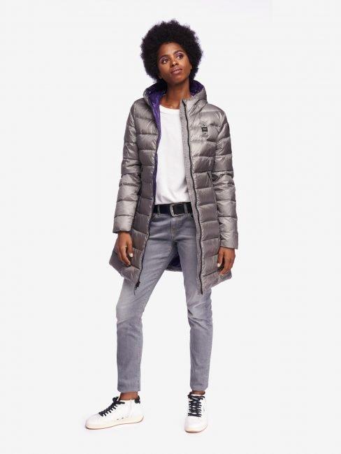 Piumino lungo Blauer donna collezione inverno 2019 2020
