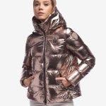 Piumino metallizzato Blauer collezione inverno 2020 prezzo 348 euro