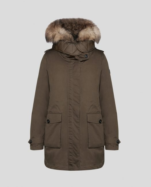 Scarlett Parka Woolrich donna inverno 2019 2020 colore military olive
