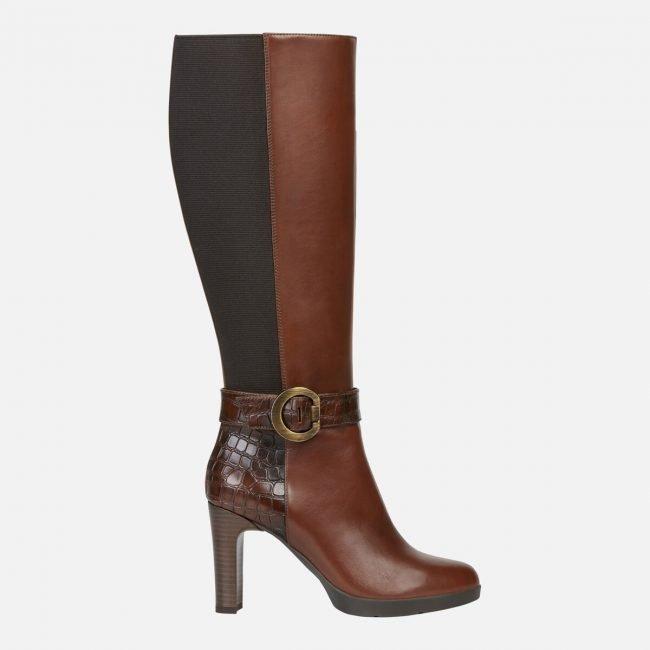 Stivali con tacco alto Geox collezione inverno 2020