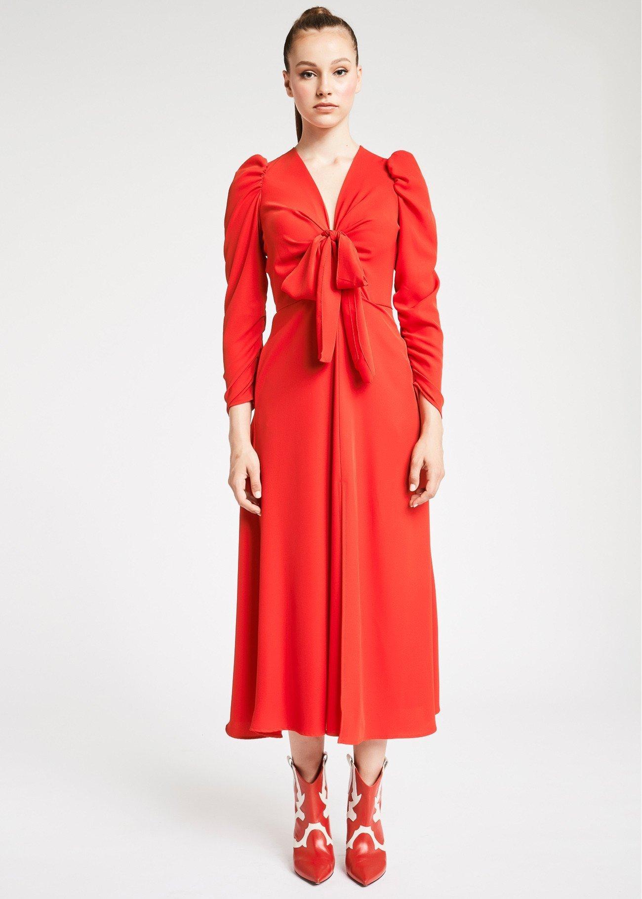 Vestito lungo denny Rose catalogo autunno inverno 2019 2020 prezzo 119 euro