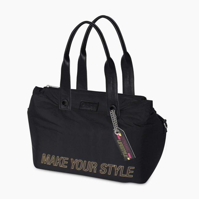 Borsa bauletto O Bag Brooklyn in nylon special collection inverno 2019 2020
