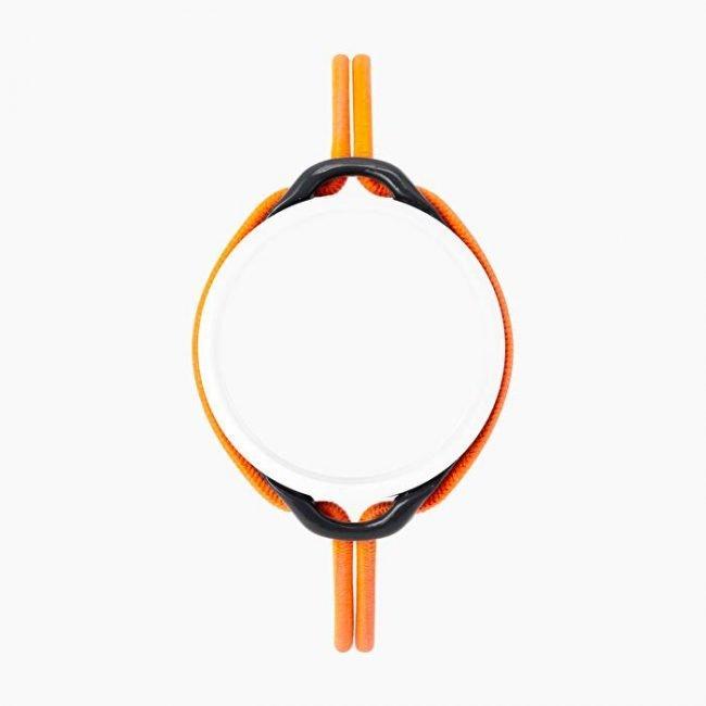 Cinturino nuovo O clock time colore arancio fluo