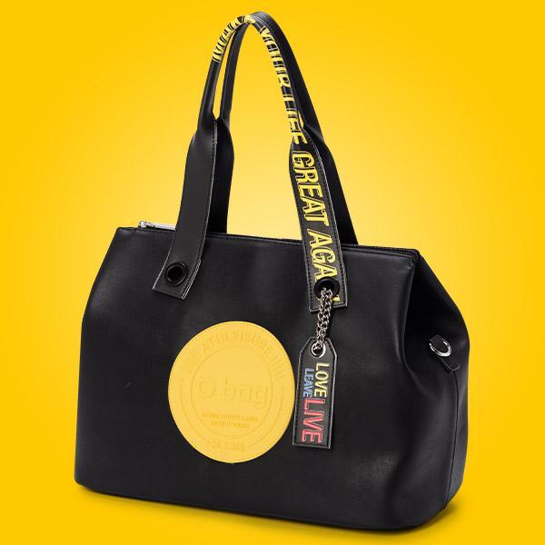 Nuova borsa bauletto O bag Brooklyn in ecopelle