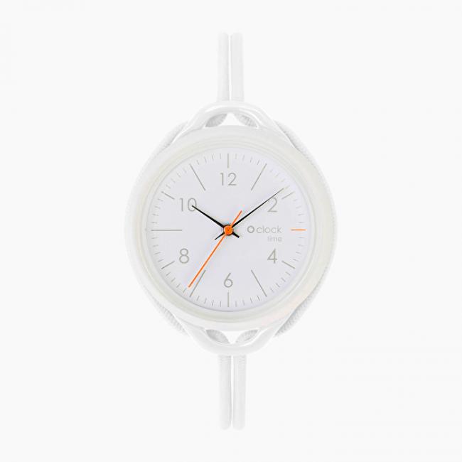 Nuovo Orologio O Clock Time Bianco di O bag