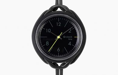 Nuovo Orologio O Clock Time nero di O bag collezione inverno 2019 2020