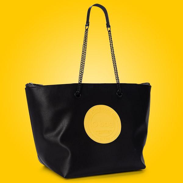 O Bag Daisy in ecopelle