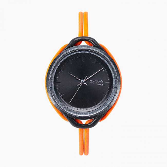 Orologio O Clock Time di O bag Arancione