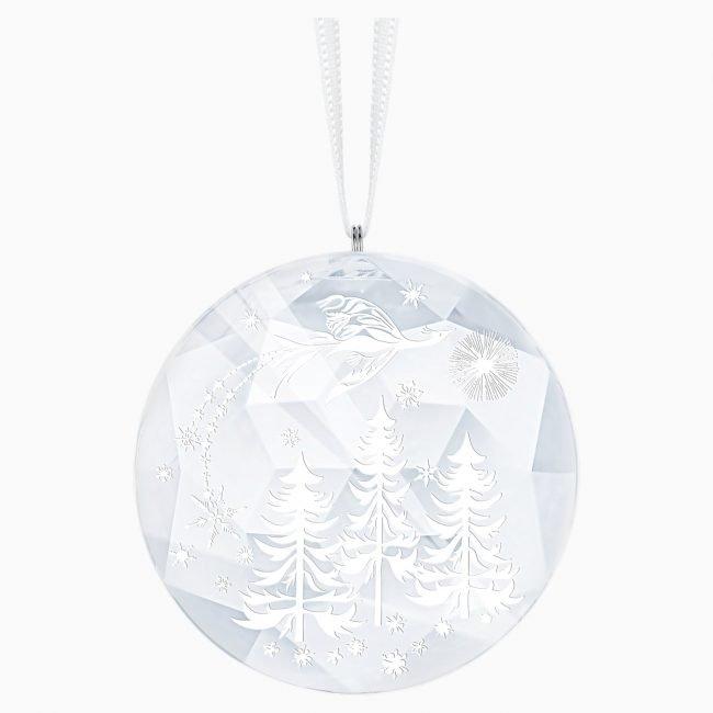 Pallina di Natale di cristallo Swarovski Notte Inverno