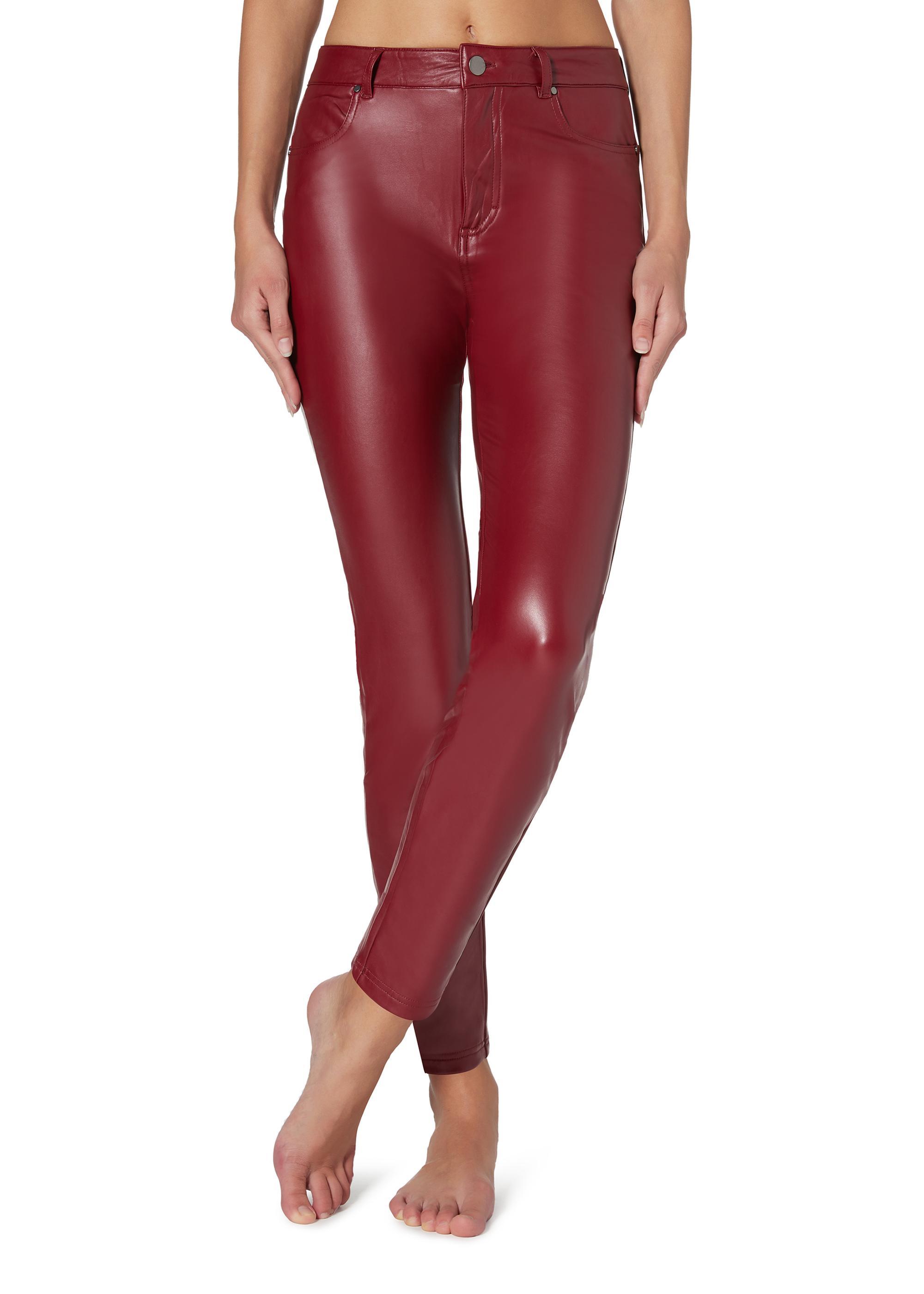 Pantaloni termici Calzedonia effetto pelle inverno 2019 2020