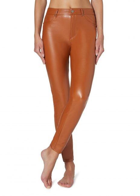 Pantaloni termici Calzedonia effetto pelle inverno 2020