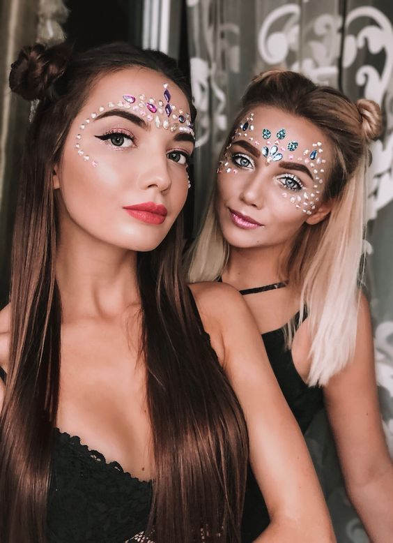 10 facili Idee Trucco viso donna Carnevale