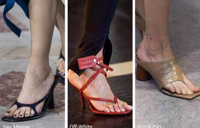 20 Tendenze Moda Scarpe e Sandali Primavera Estate 2020