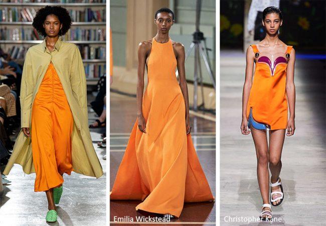 Arancione Colori Moda Estate 2020
