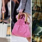 Borse con i manici in bamboo moda estate 2020