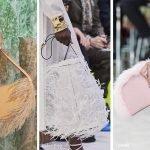 Borse con le piume moda primavera estate 2020