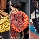 Borse in pelle intrecciata moda primavera estate 2020
