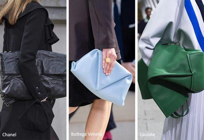 Borse ripiegate moda 2020