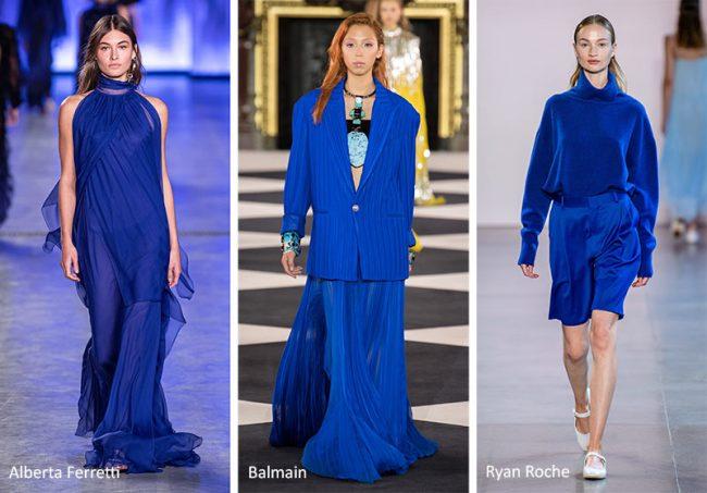 Classic Blue Colore Moda 2020